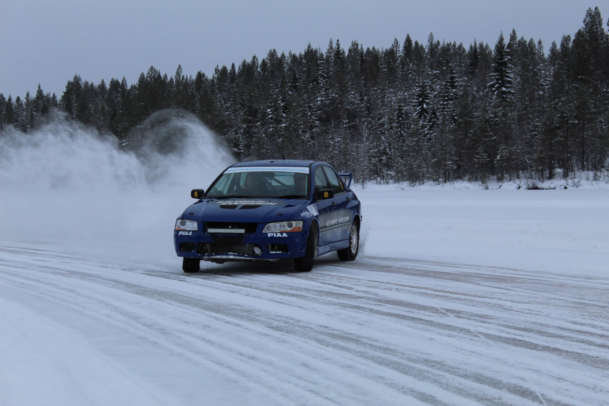 Ice Driving in Sweden