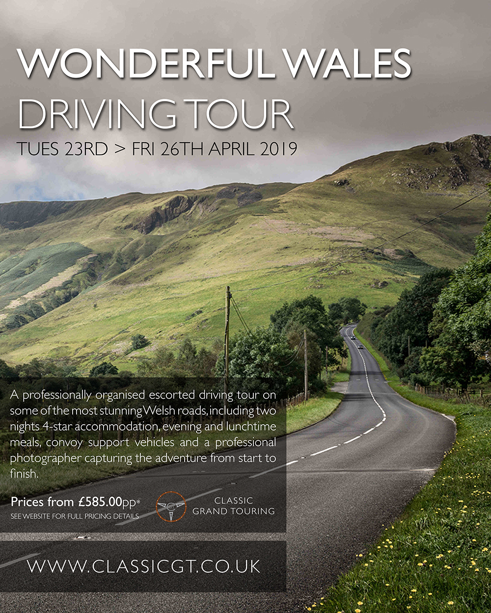 Wales driving tour