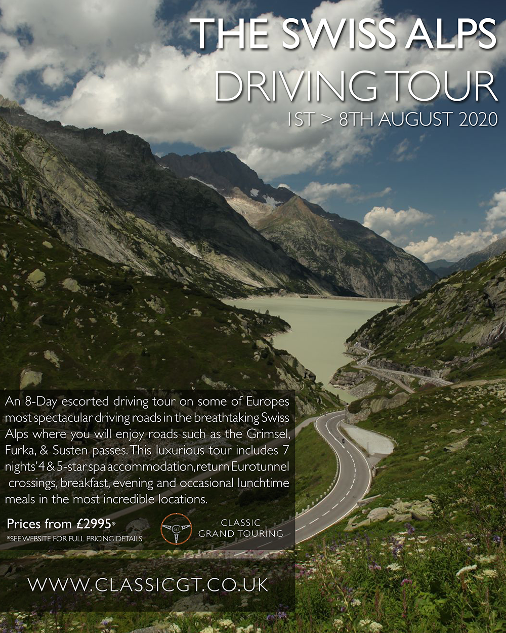 Swiss Alps Driving Tour